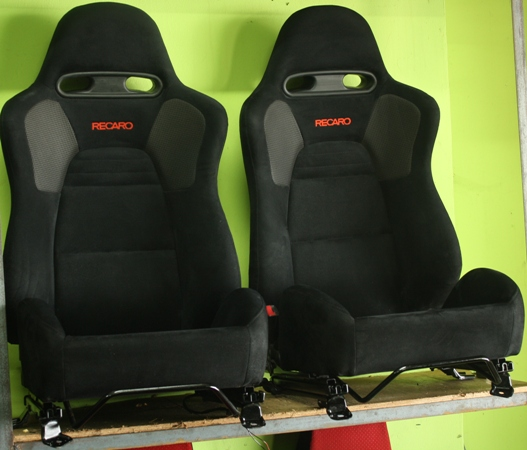 dingz garage seat recaro lancer evo 8 mr complete. Black Bedroom Furniture Sets. Home Design Ideas