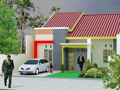 Gambar 3D Rumah Minimalis Modern - 11
