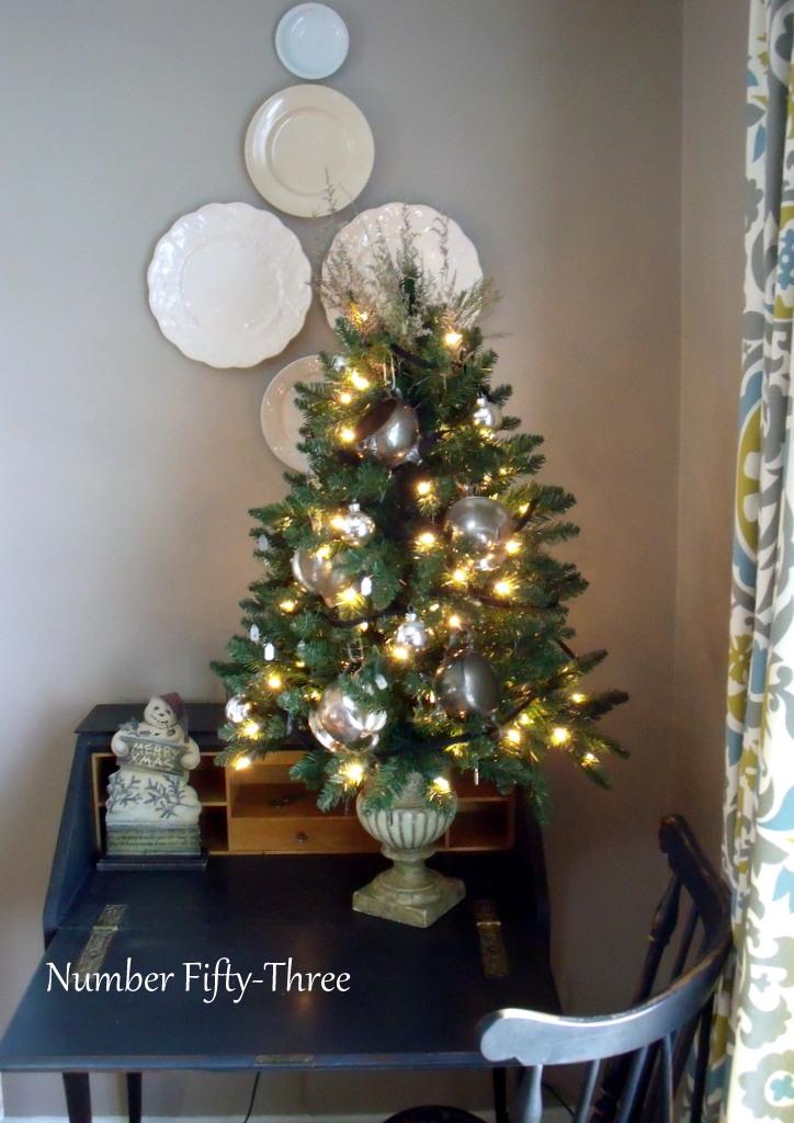 Christmas Tree In Urn