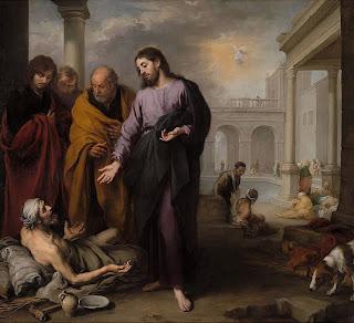 La curación del paralítico en la piscina de Bethesda - 1667.70  - National Gallery Londres