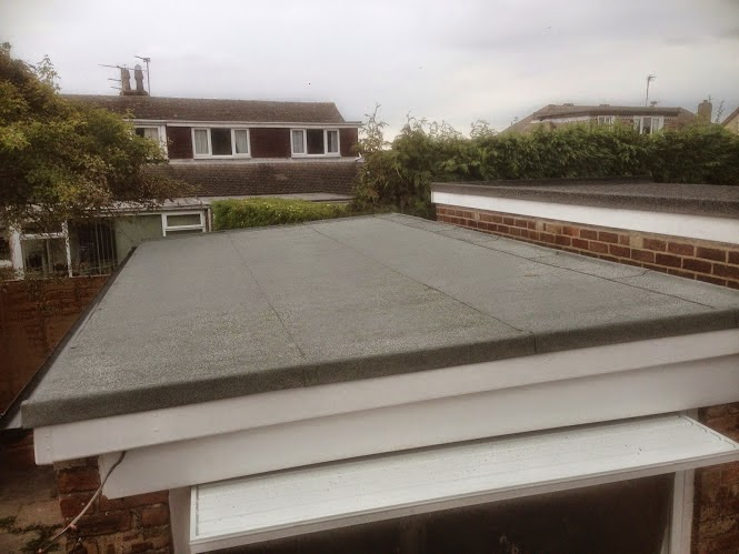 D&C ROOFING: Replacement flat roof to Garage