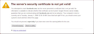 Facebook Tidak Bisa diBuka Melalui Google Chrome