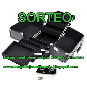 "Sorteo en el blog ""Maquillaje and Beauty"""