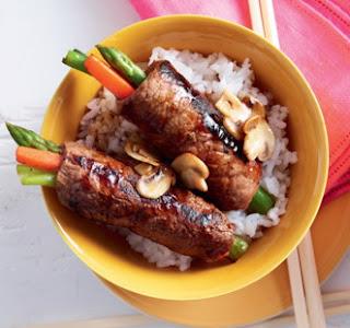 Daging Sapi Gulung Jepang