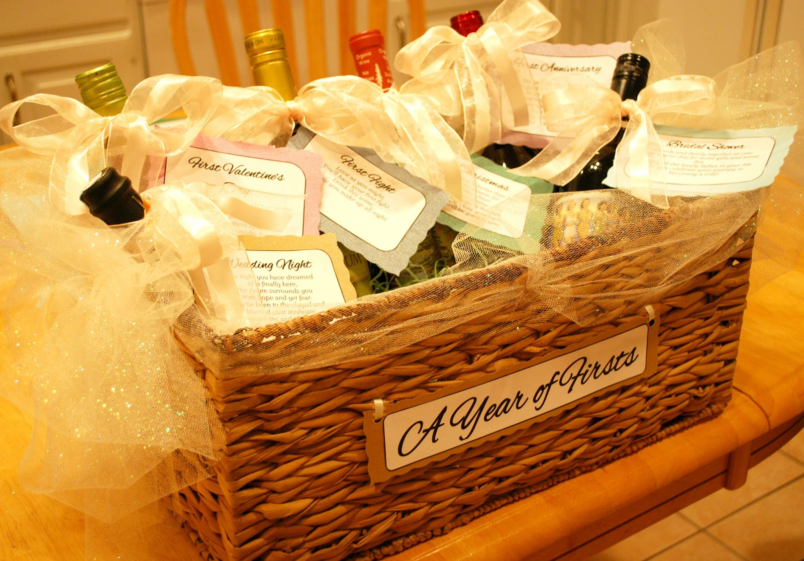 Diy Bridal Shower Gift Basket Ideas : Girls Guilty Pleasures: DIY Bridal Shower Wine Poems