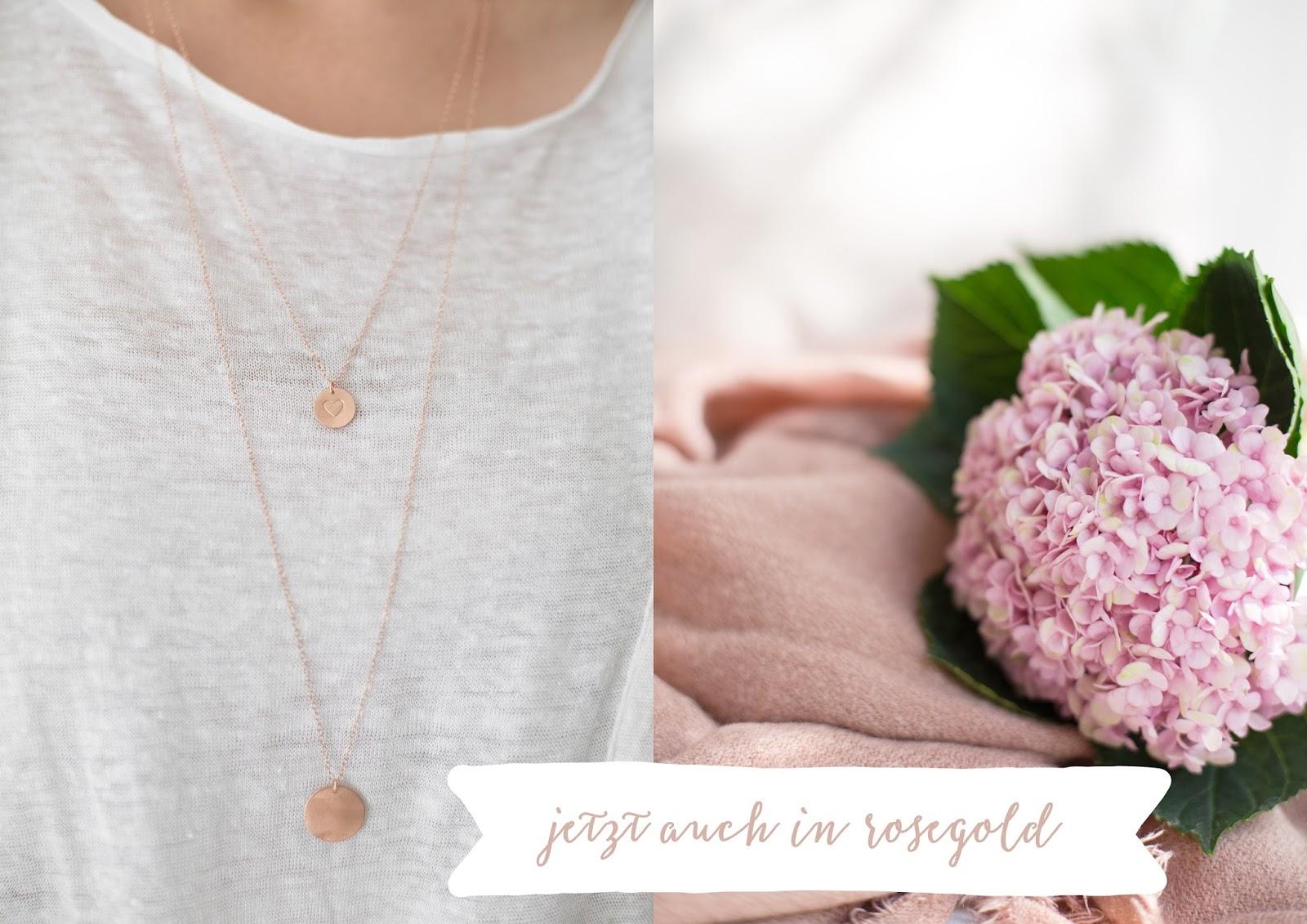 detail lovin' Ketten in rose gold