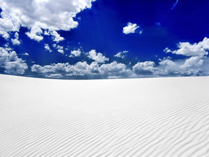 white sands desert picture