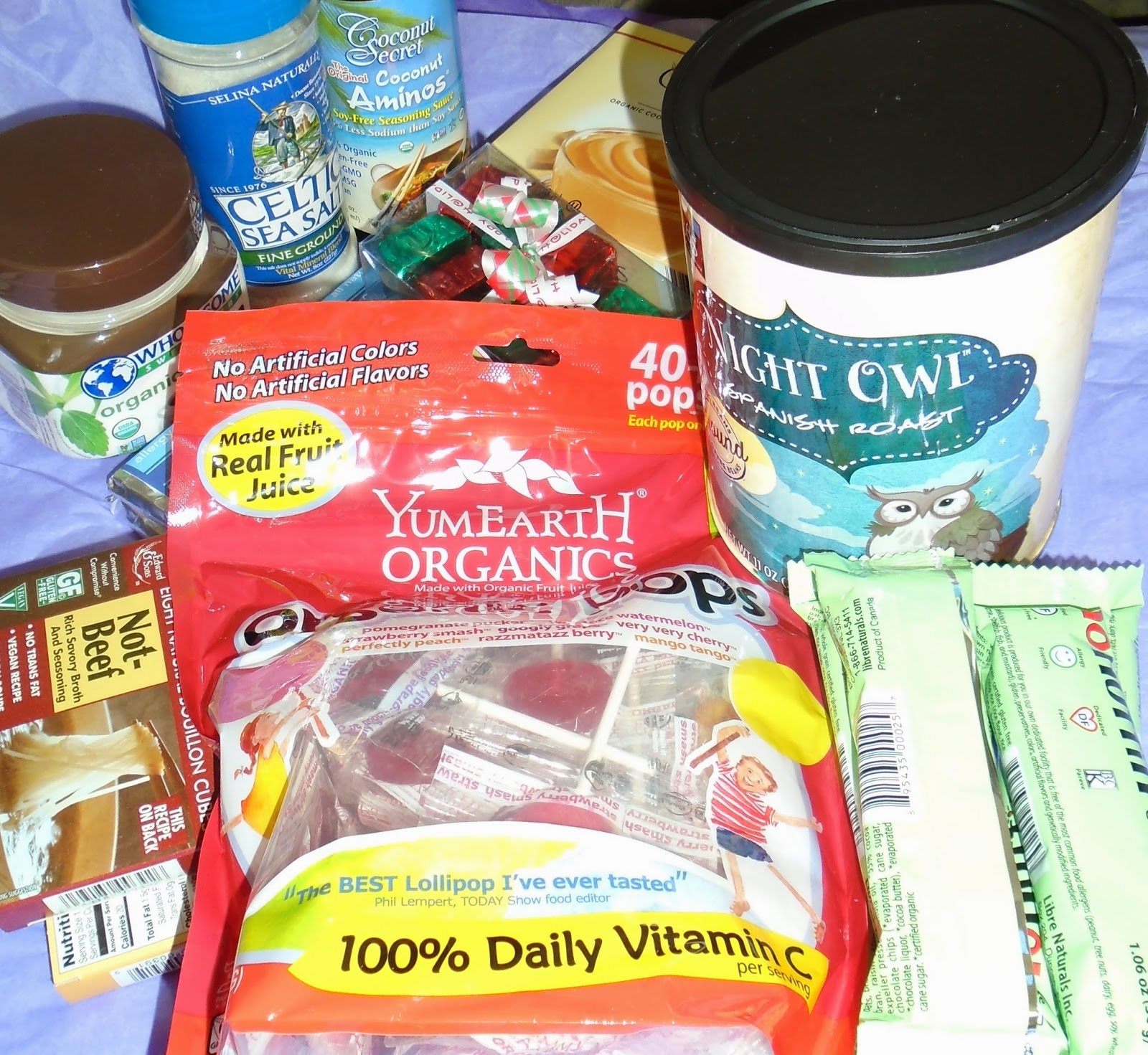 allergy friendly soy free products for Maya's Christmas Giveaway worth over $50