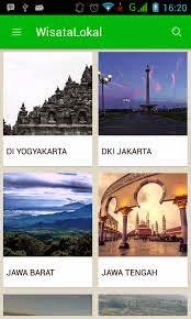 Aplikasi Info Wisata Indonesia di Android