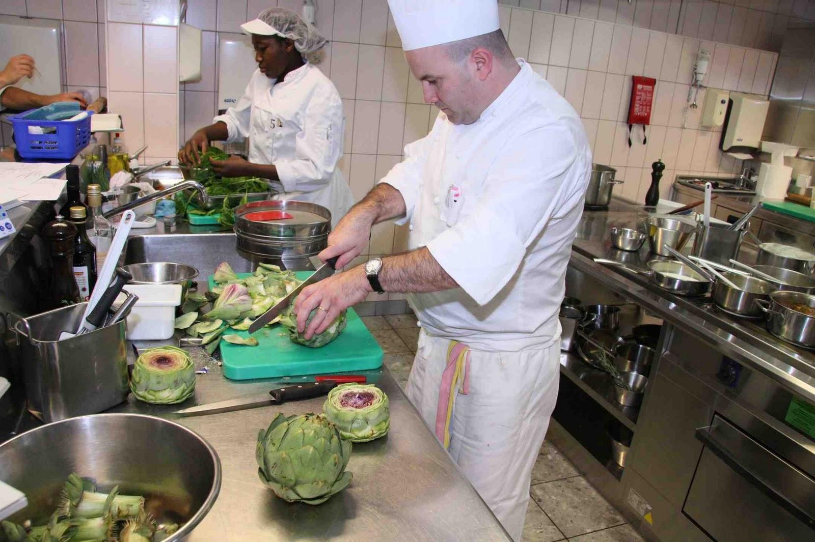 Carnets de bord de l 39 ems burier concours taittinger - Commis de cuisine suisse ...
