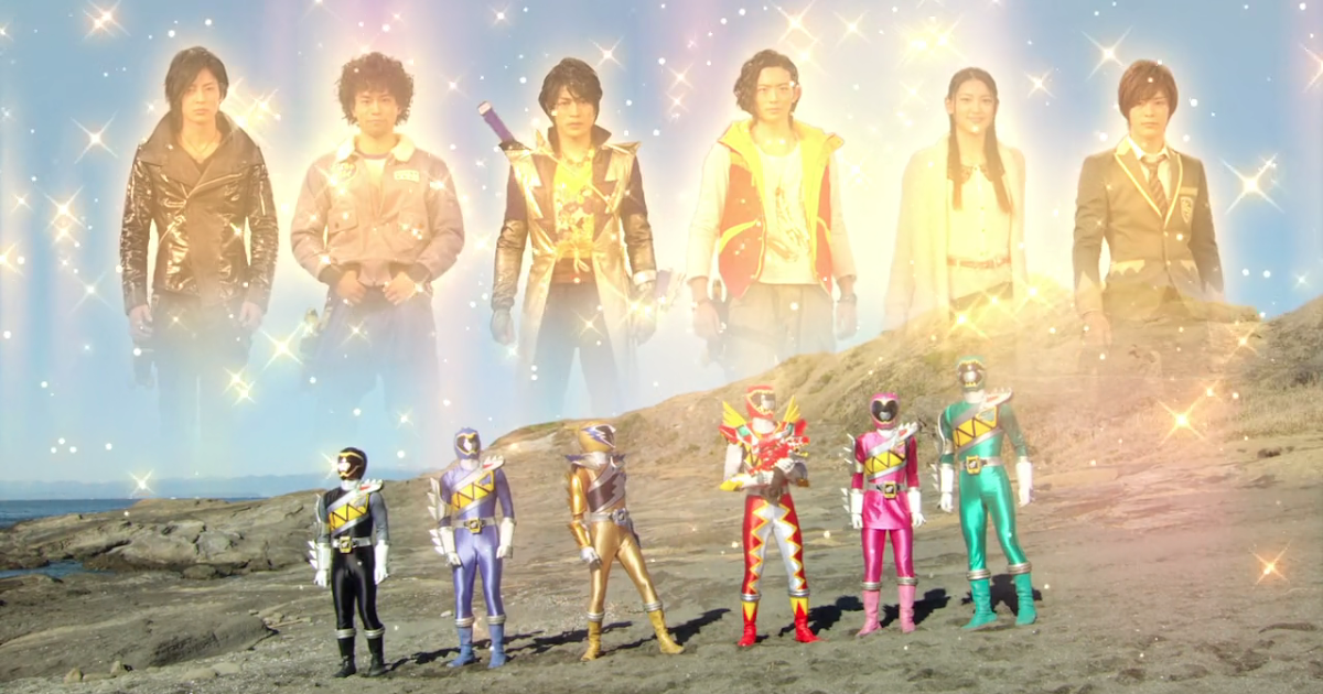 My Shiny Toy Robots: Movie REVIEW: Zyuden Sentai Kyoryuger ...