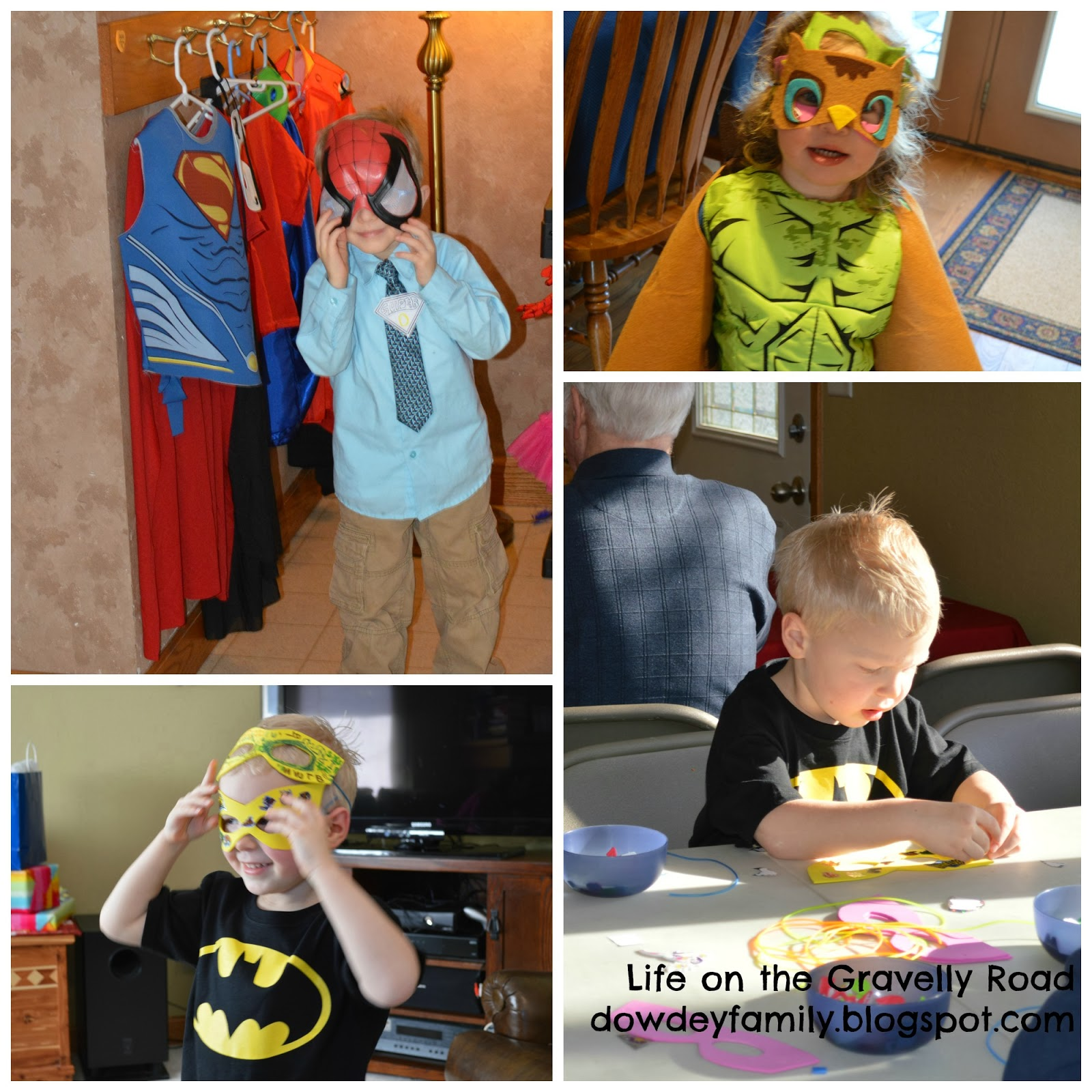 super hero party fun