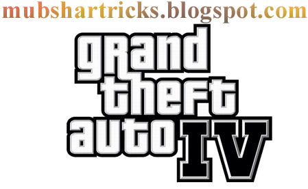 Update 10/10/2015 GTA IV - Cheat Codes-By Mubshar KashmiRi
