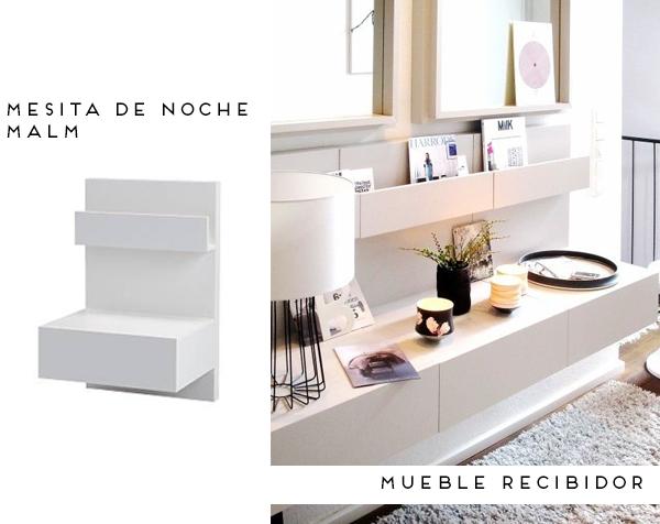 Chill decoraci n ikea da otro uso a tus muebles - Muebles entrada ikea ...