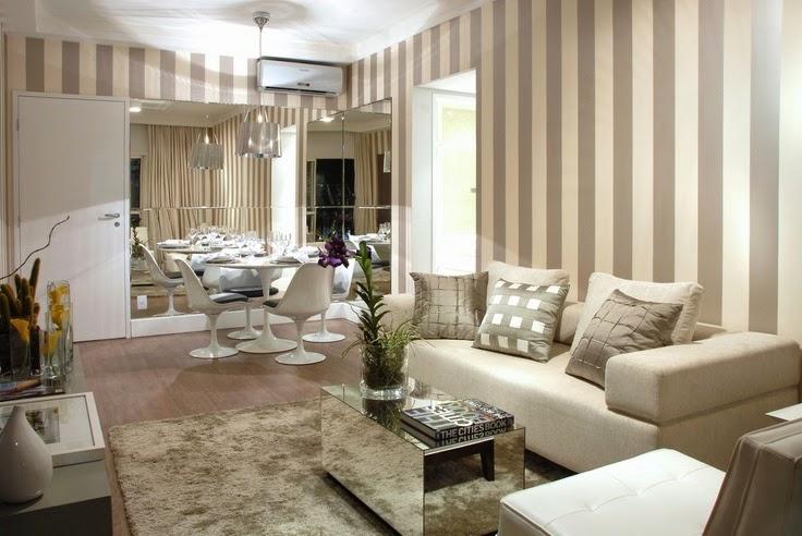 Salas de estar e jantar pequenas e integradas - veja dicas + modelos
