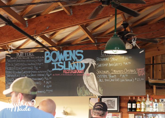 bowen's island