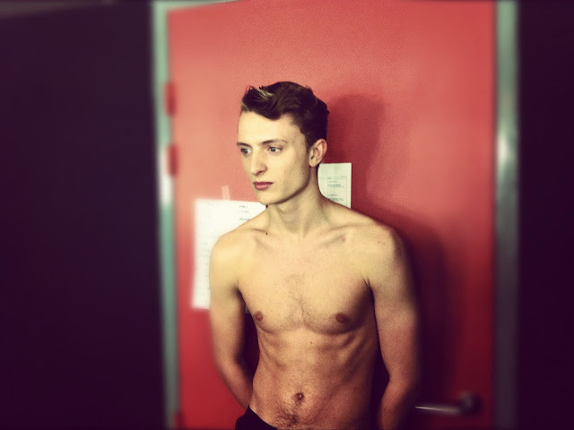 MALE MODELS NAKED JOHN LAWRENCE SULLIVAN FALL WINTER 2012 2013 BACKSTAGE PARIS MENS FASHION WEEK