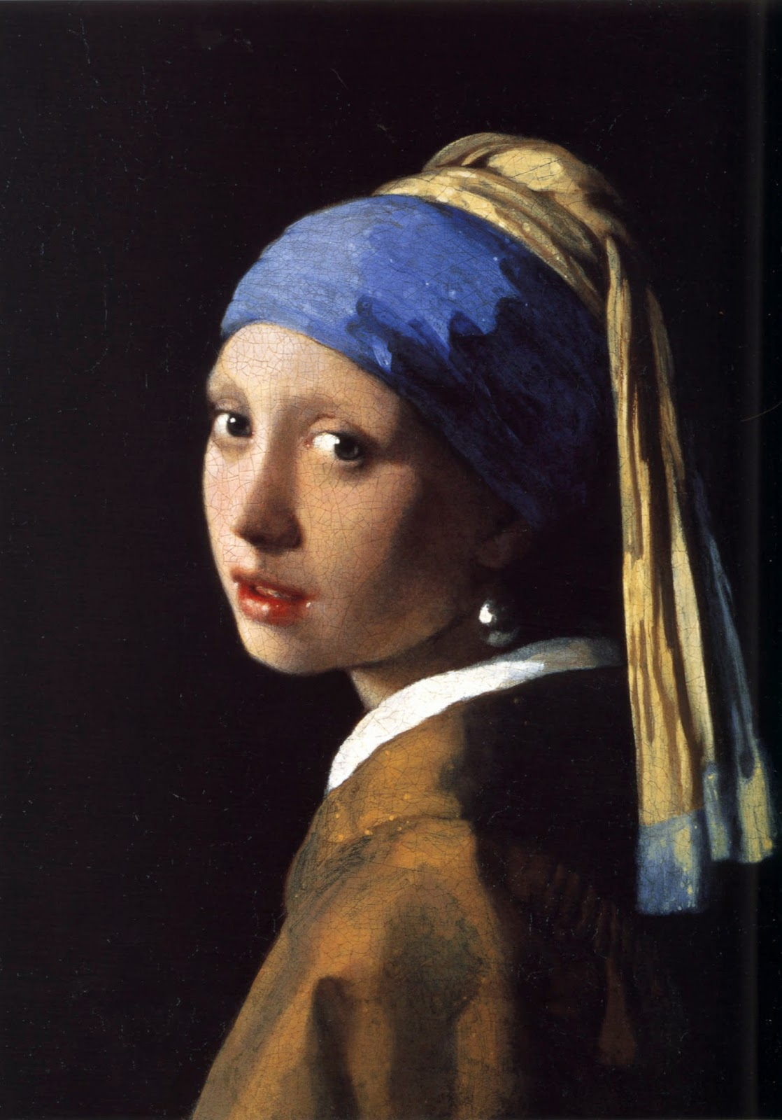 girl with pearl earring | a personal story about being a messy artist