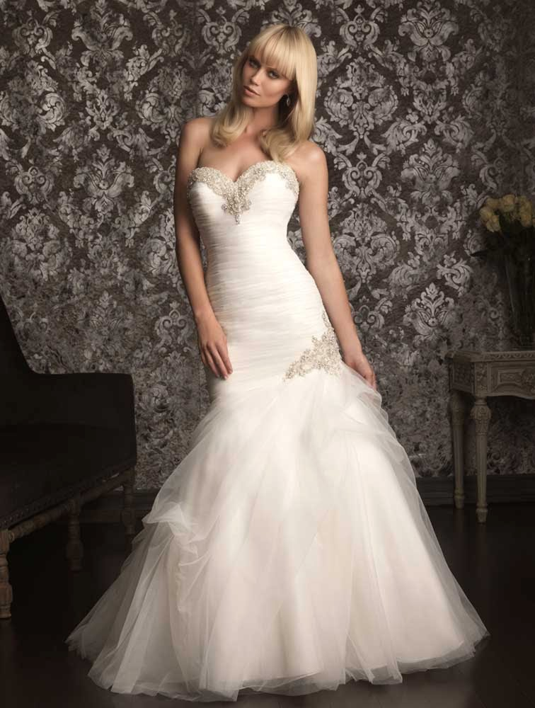 Allure Ball Gown Wedding Dresses Bling 2012 Model pictures hd