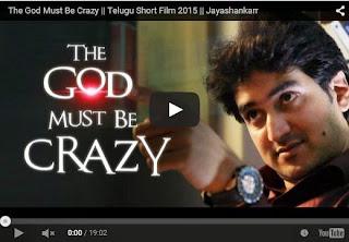 The God Must Be Crazy | Telugu Short Film 2015 | Must Watch | HD Video