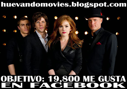 NOW YOU SEE ME (LOS ILUSIONISTAS) FULL HD 1080P