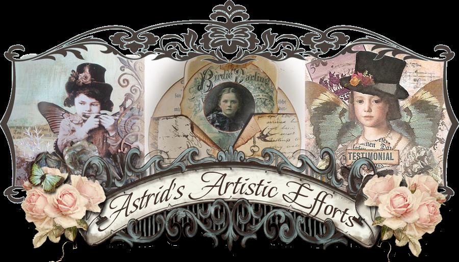 Astrid´s Artistic Efforts