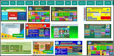 Aplikasi Raport K13 dan KTSP SD, MI, SMP, MTS, SMA, MA, SMK