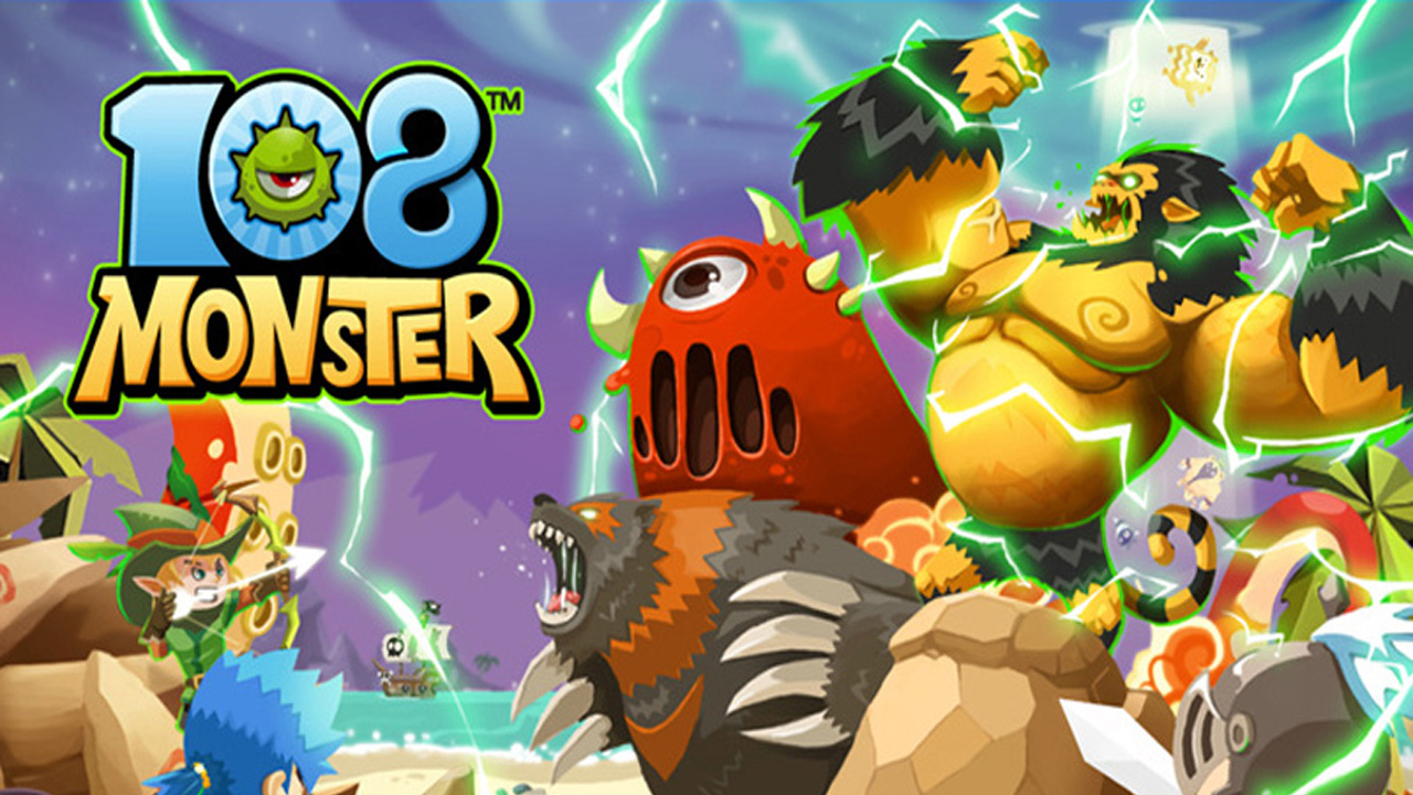 108 Monsters (108몬) Gameplay IOS / Android