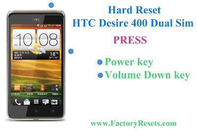 Hard Reset HTC Desire 400 Dual Sim