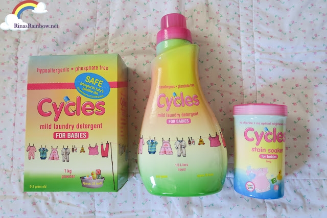 Cycles laundry products