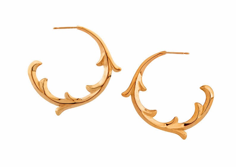 http://www.rosie-sanders.com/collections/renaissance-rebel-ii/products/scroll-hoop-earrings-rose-gold