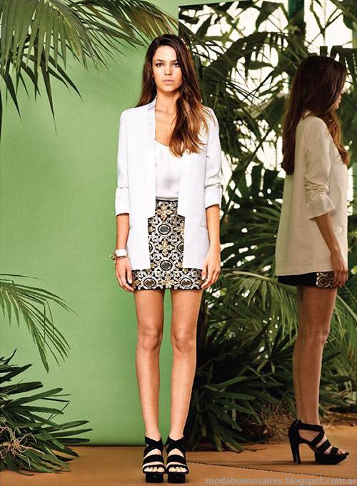Faldas de moda 2015 colección Naima primavera verano 2015.
