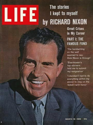 an essay on richard nixon and the election of 1960