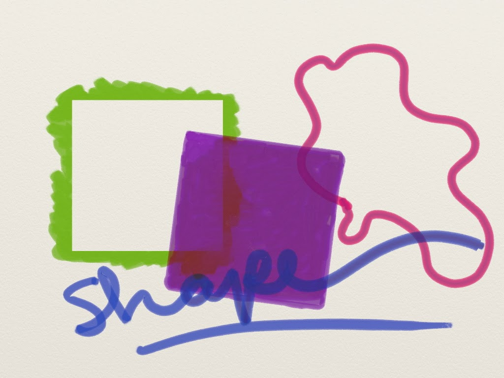 Shape As An Element Of Art : Element of art shape example imgkid the image