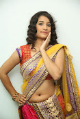 santoshini sharma photos in half saree-thumbnail-17