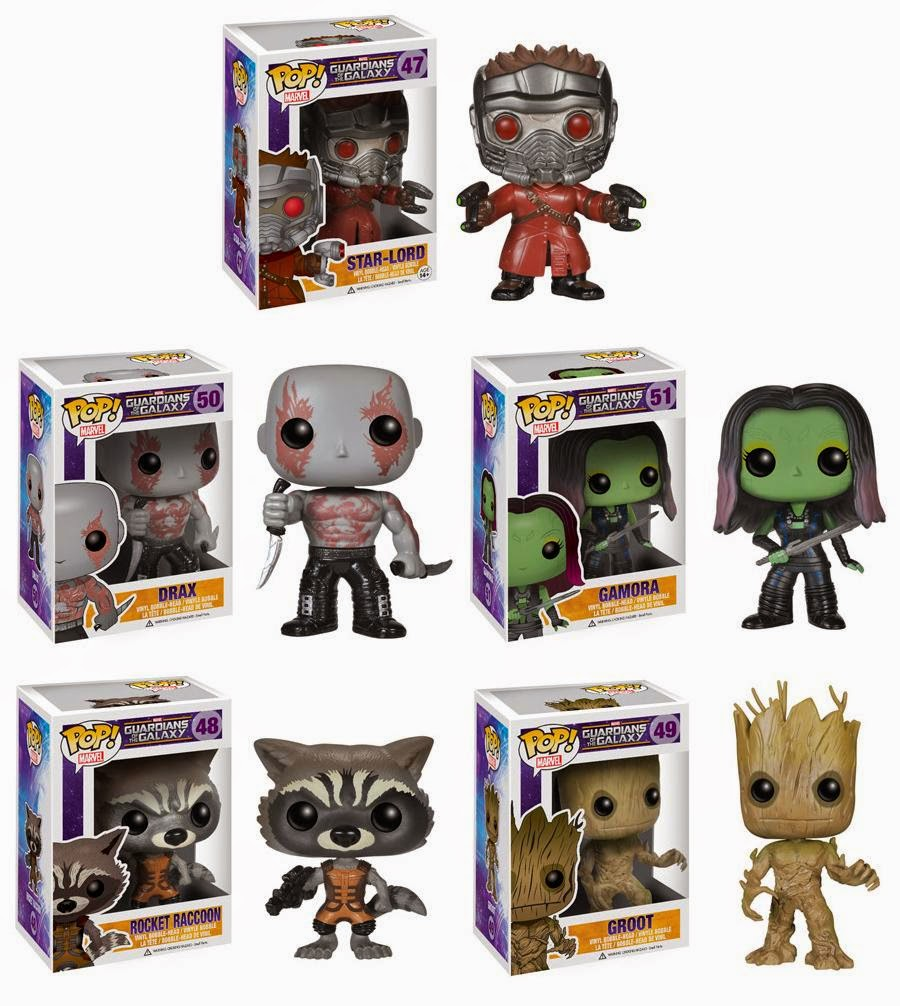 marvel guardians of the galaxy pop figure 8 designs to. Black Bedroom Furniture Sets. Home Design Ideas