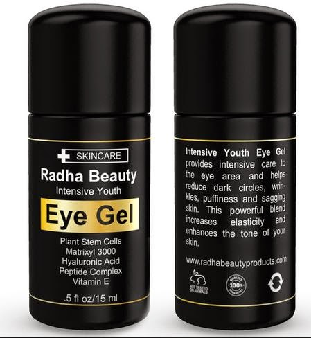 Radha Beauty Intensive Youth Eye Gel Review By Barbie's Beauty BIts