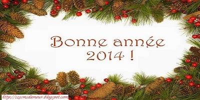 Beau sms de bonne année 2014