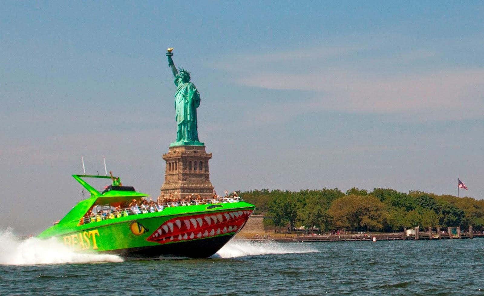 passeios de barco da Circle Line em Nova York