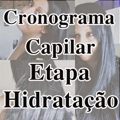 cronograma capilar: etapa hidratação