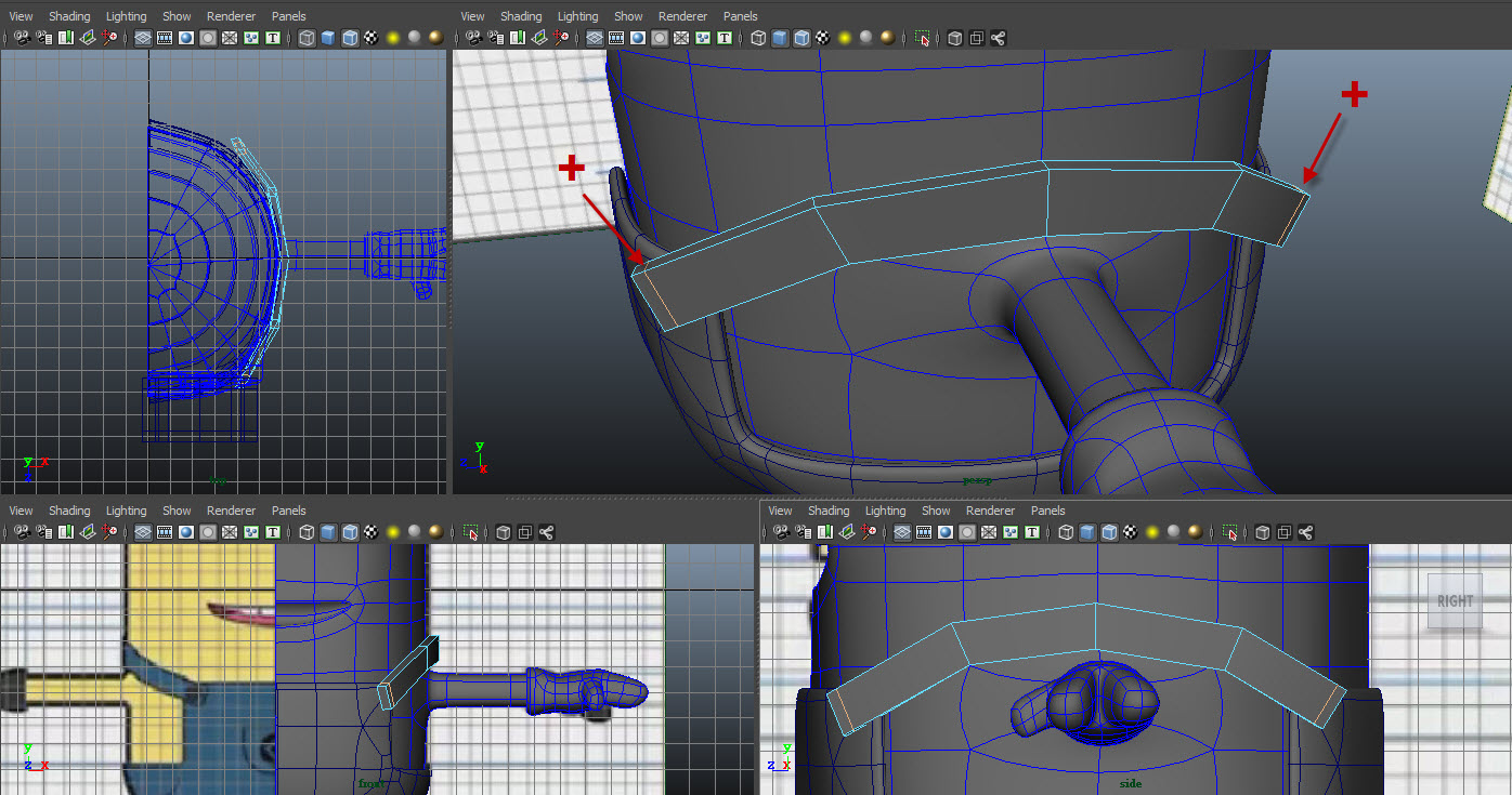 Modeling belt 04