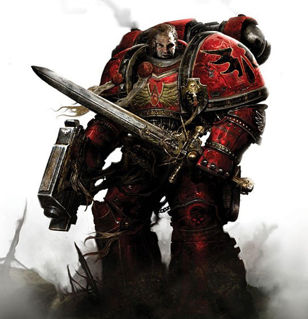 The Art Of Warhammer Blood Angels A Balancing Act