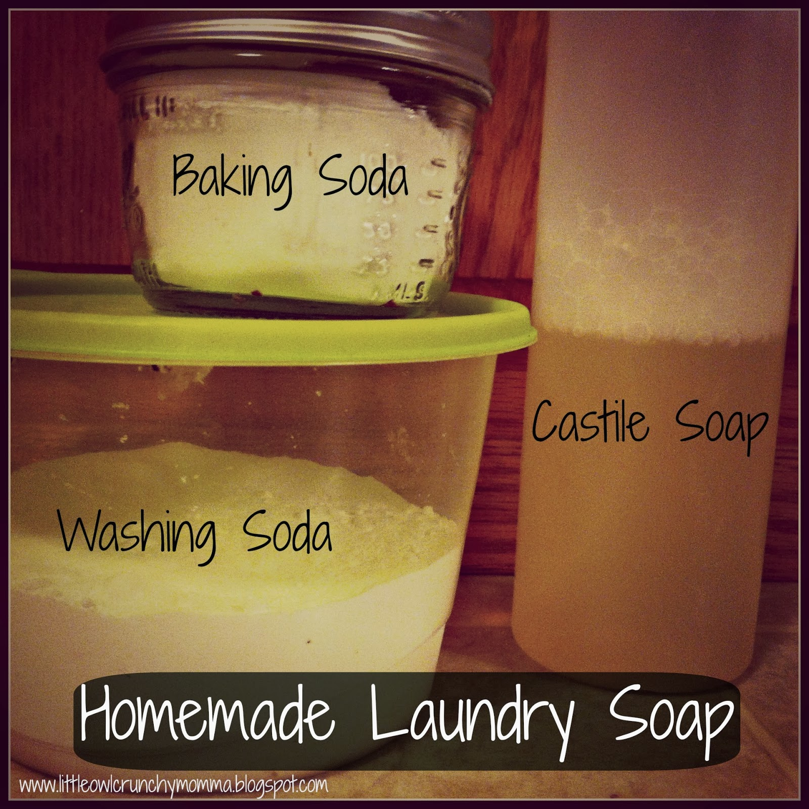 littleowlcrunchymomma easy homemade laundry detergent without borax. Black Bedroom Furniture Sets. Home Design Ideas