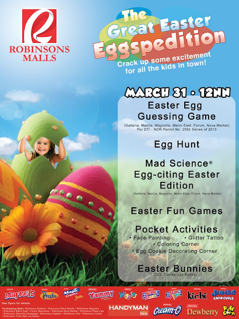 Robinsons Malls The Great Easter Eggspedition