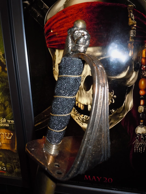 Pirates of the Caribbean Captain Barbossa sword hilt