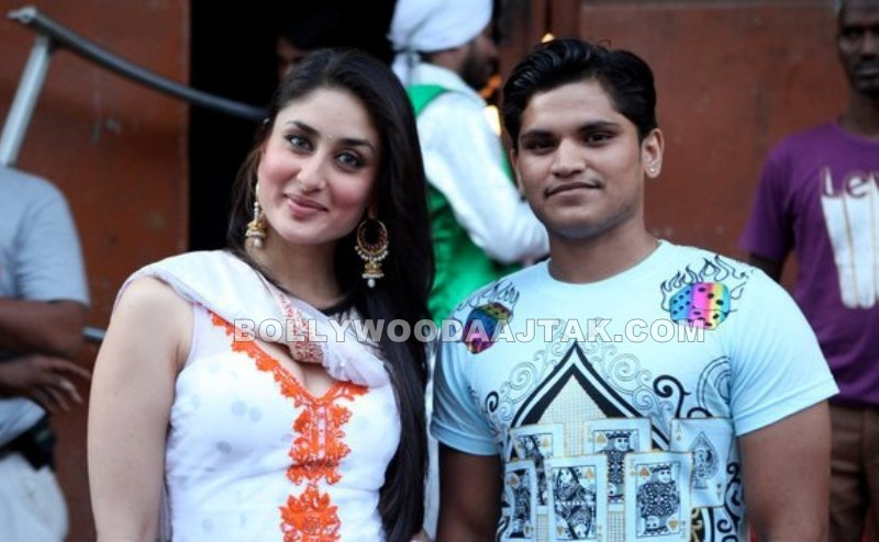 Hot Malai Kareena Kapoor on Sets of Bodyguard Movie