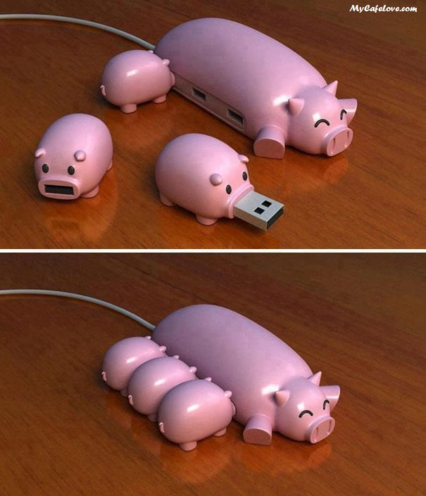 So cute piggy Pendrives ~ cute image