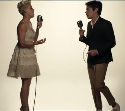 "Pink & Nate Ruess' ""Just Give Me A Reason"" Video Wants Me To Like It"