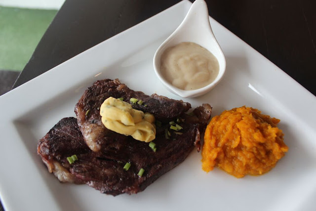 Steaks here in North Wing of Maginhawa Street, Quezon City