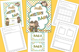 Math Mystery Bags